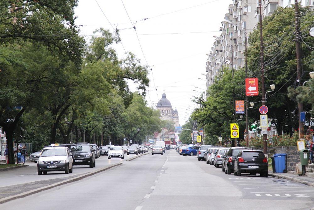 Strada Gheorghe Lazăr, axis mundi modernus
