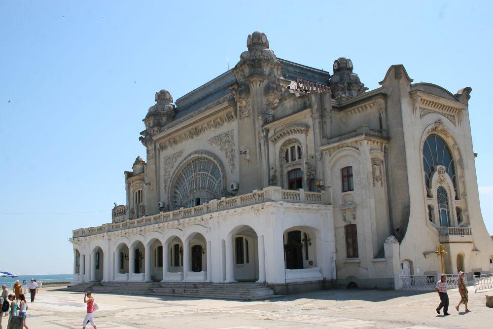 Constanța – castel de nisip la malul Mării Negre