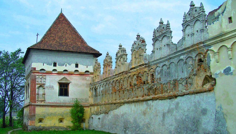 Lázár, vechiul castel al conților Lazăr