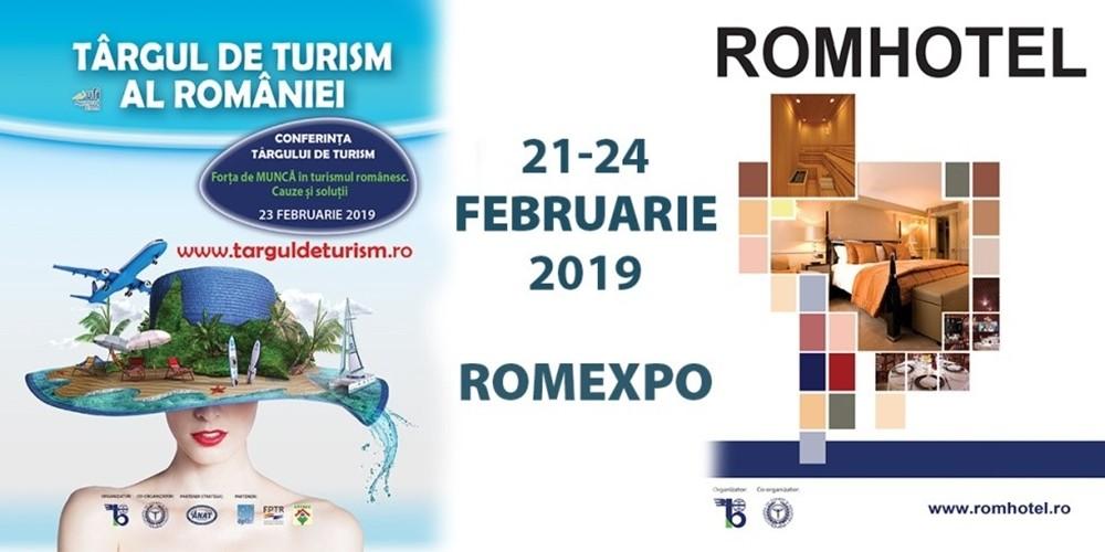 ROMEXPO deschide sezonul expozițional 2019 cu Târgul de Turism al României și ROMHOTEL