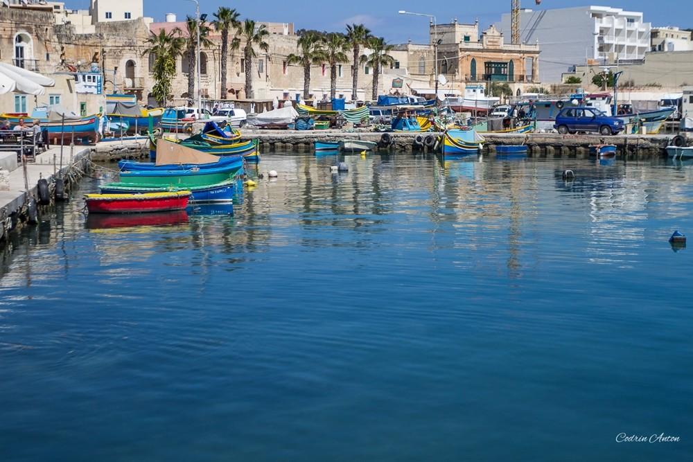 Marsaxlokk – culori dintr-un sat pescăresc
